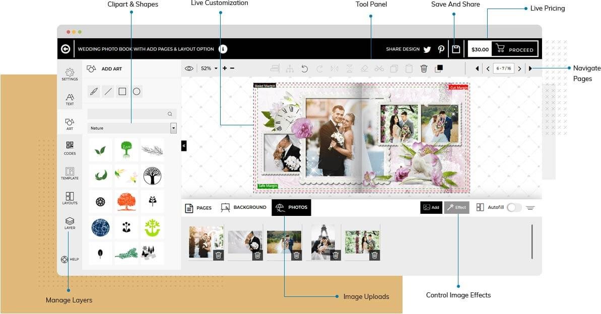 Html5 Based Online Designer Studio Online Design Tool For