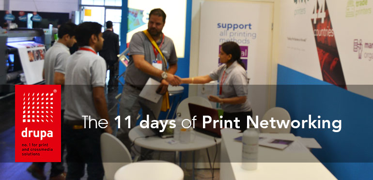 The 11 days of Print Networking ….Drupa 2016 comes to end!!