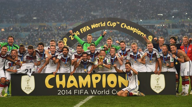 Congratulations to Germany