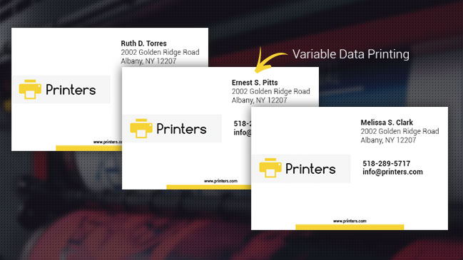 Learn how variable data printing can help your print business add value with personalization