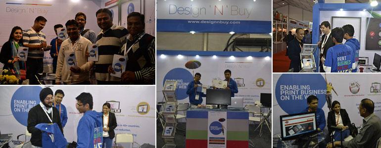 Design'N'Buy leaves its footprints at PrintPack India 2015