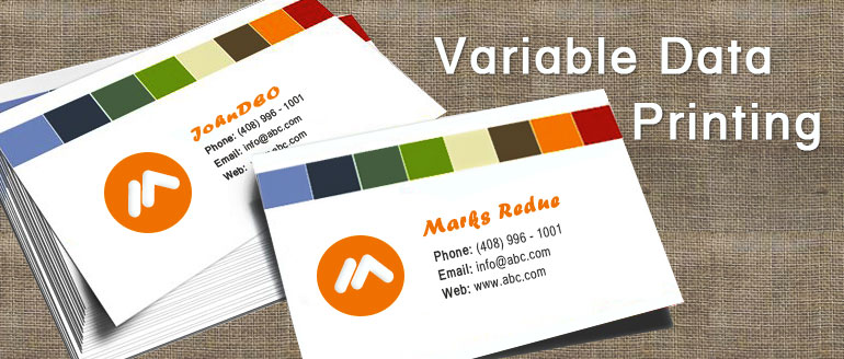 Variable Data Printing – A Big Plus for your Personalized Marketing Efforts
