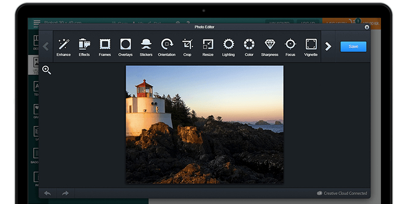 Design'N'Buy – Offer enhanced photo editing features to your customers with Adobe Aviary API integration