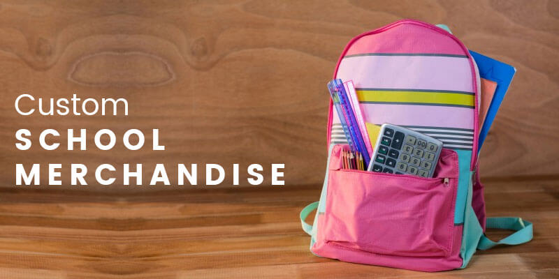 Custom School Merchandise is a big business opportunity for printers this Back-to-School season