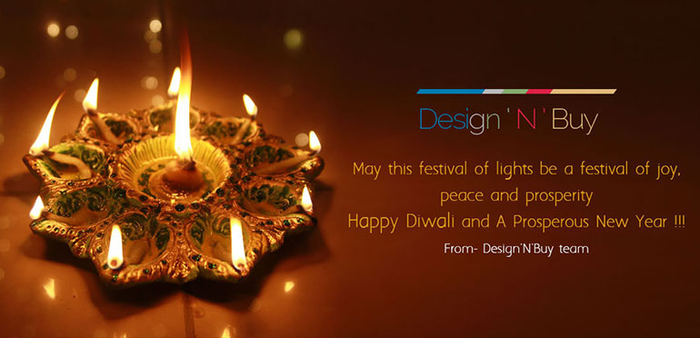 Design'N'Buy wishes you Happy Diwali and A Prosperous New Year