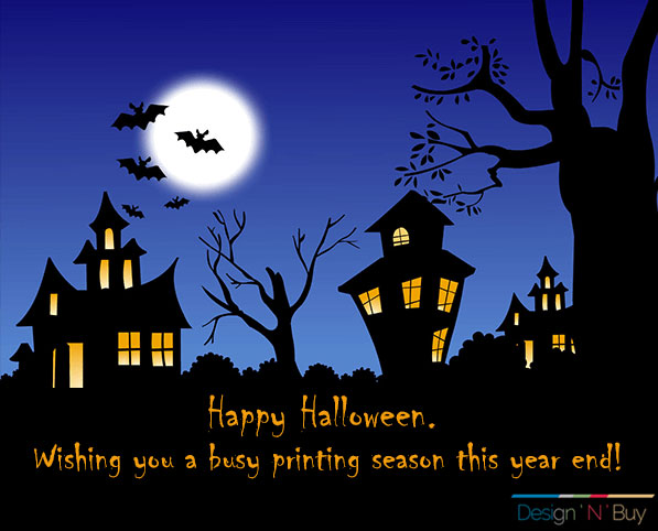Design'N'Buy wishes Happy Halloween