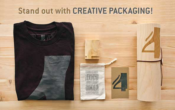 How to make your product stand out with CREATIVE PACKAGING!