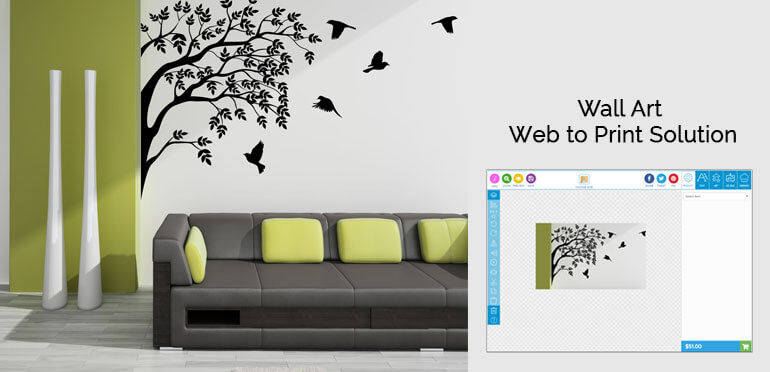 The Wall Art Web to Print Solution from Design'N'Buy