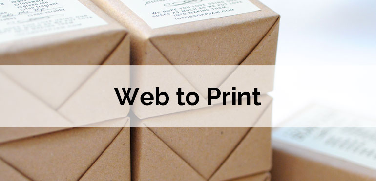 Web to Print can wrap Packaging Industry in a better way