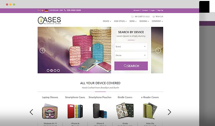 🏆 Magento online store