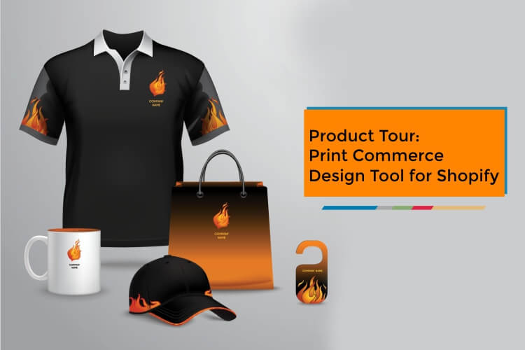 Product Tour: Print Commerce Design Tool for Shopify