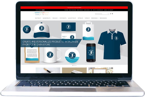 PrintCommerce NopCommerce Product Designer Software