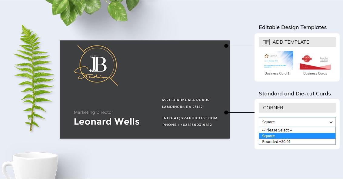 Business card maker app for mac