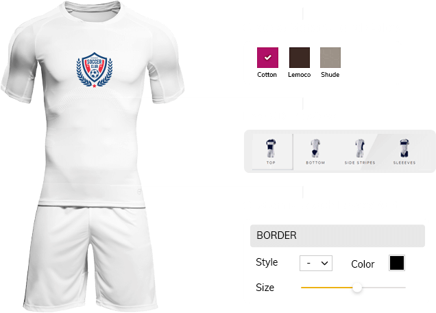 Online Sports Apparel and Uniforms Design Tool | Sports