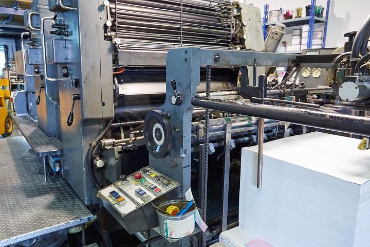 Printer ink machine