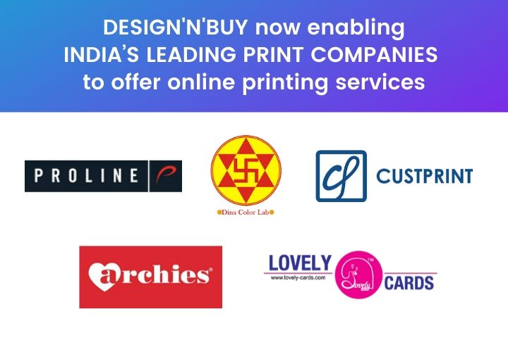 DESIGN'N'BUY Now Enabling India's Leading Print Companies To Offer Online Printing Services