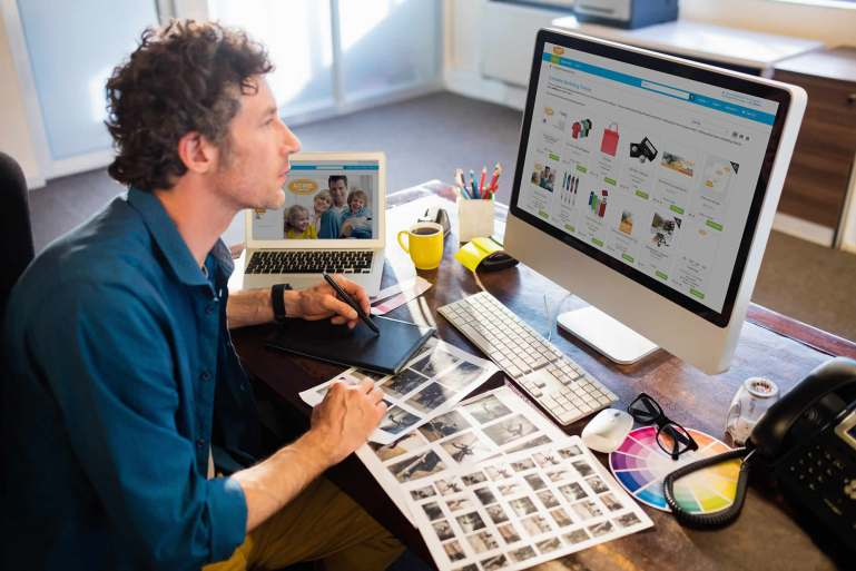 Web-to-Print Solution