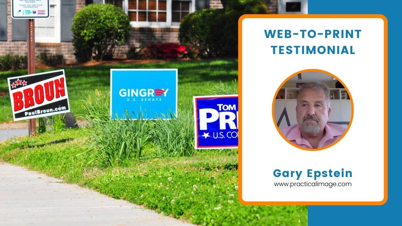 Design'N'Buy Web-to-Print review from Gary Epstein- Premium Signage and Banner Printing Business of USA