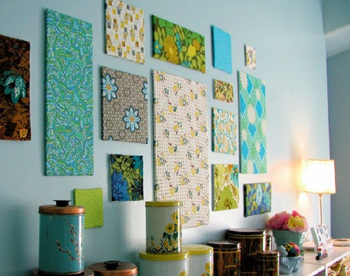 fabric printed decor
