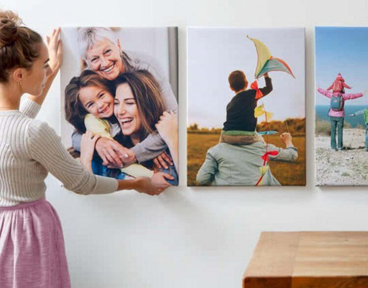 canvas photo printing b2c
