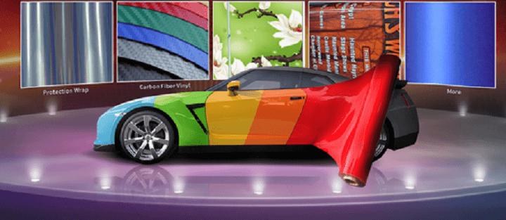 car wrap materials