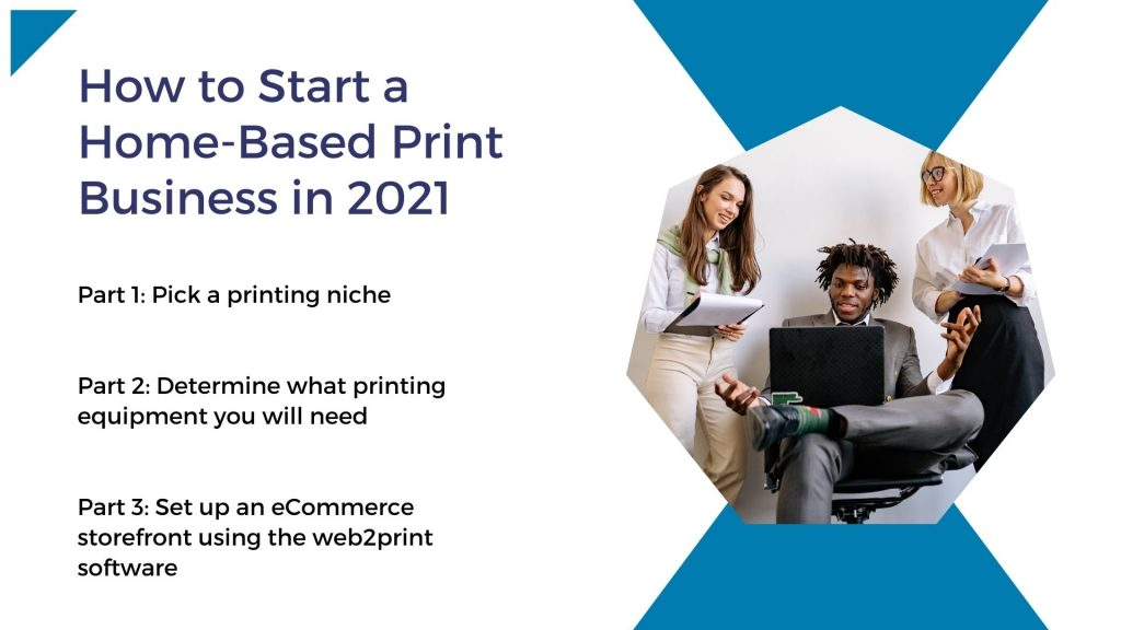 how to start home based print business